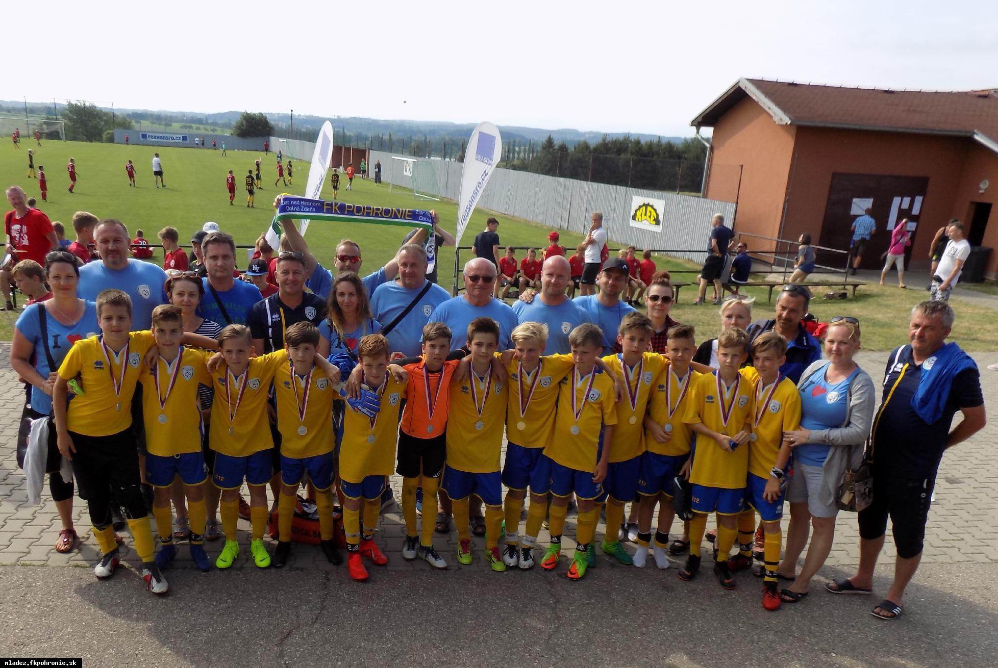 obr: U12: medzinárodný turnaj Třebíč Open 2019 15.-16.6.2019