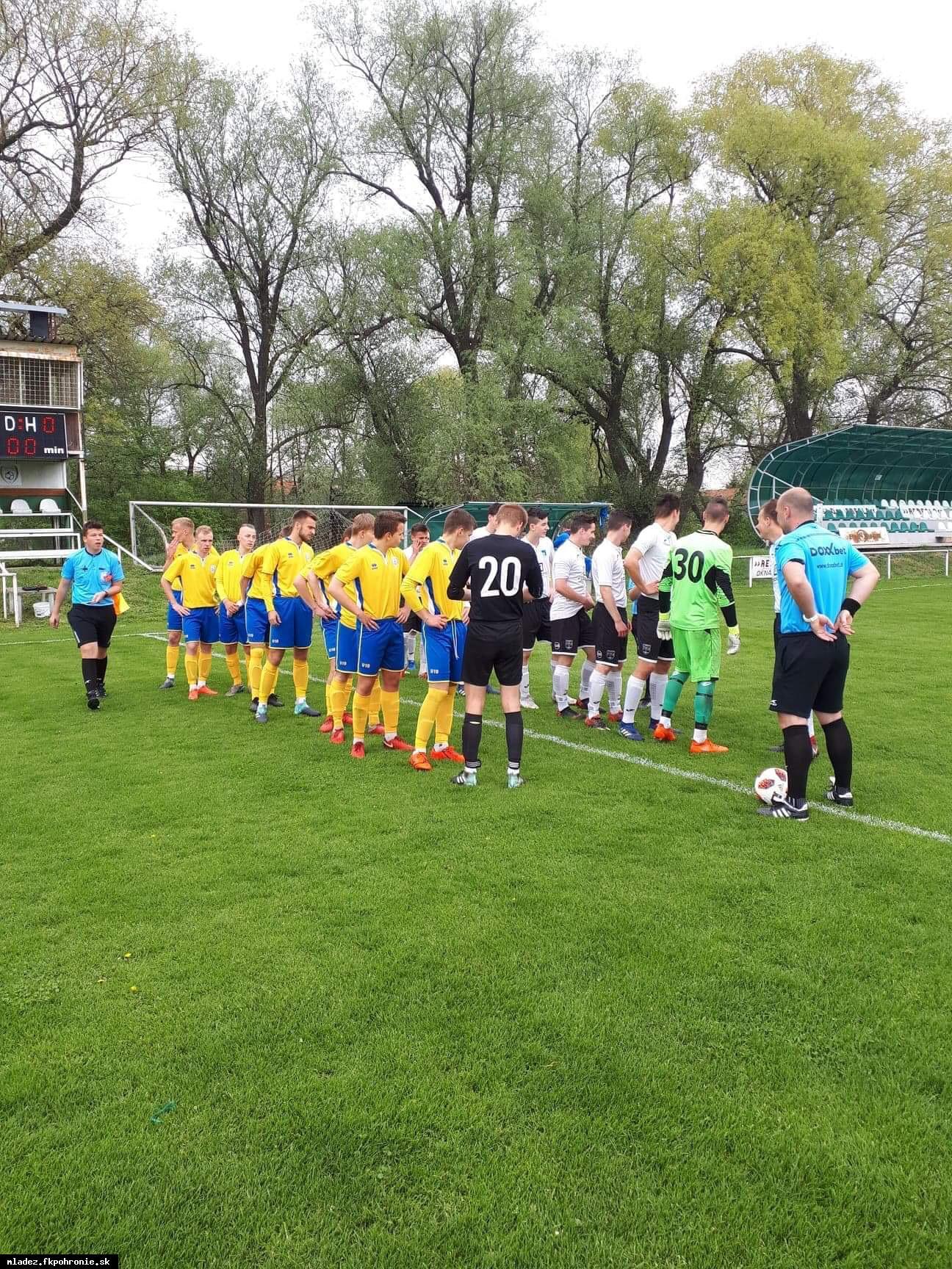 obr: U19: Prvá prehra v jarnej časti
