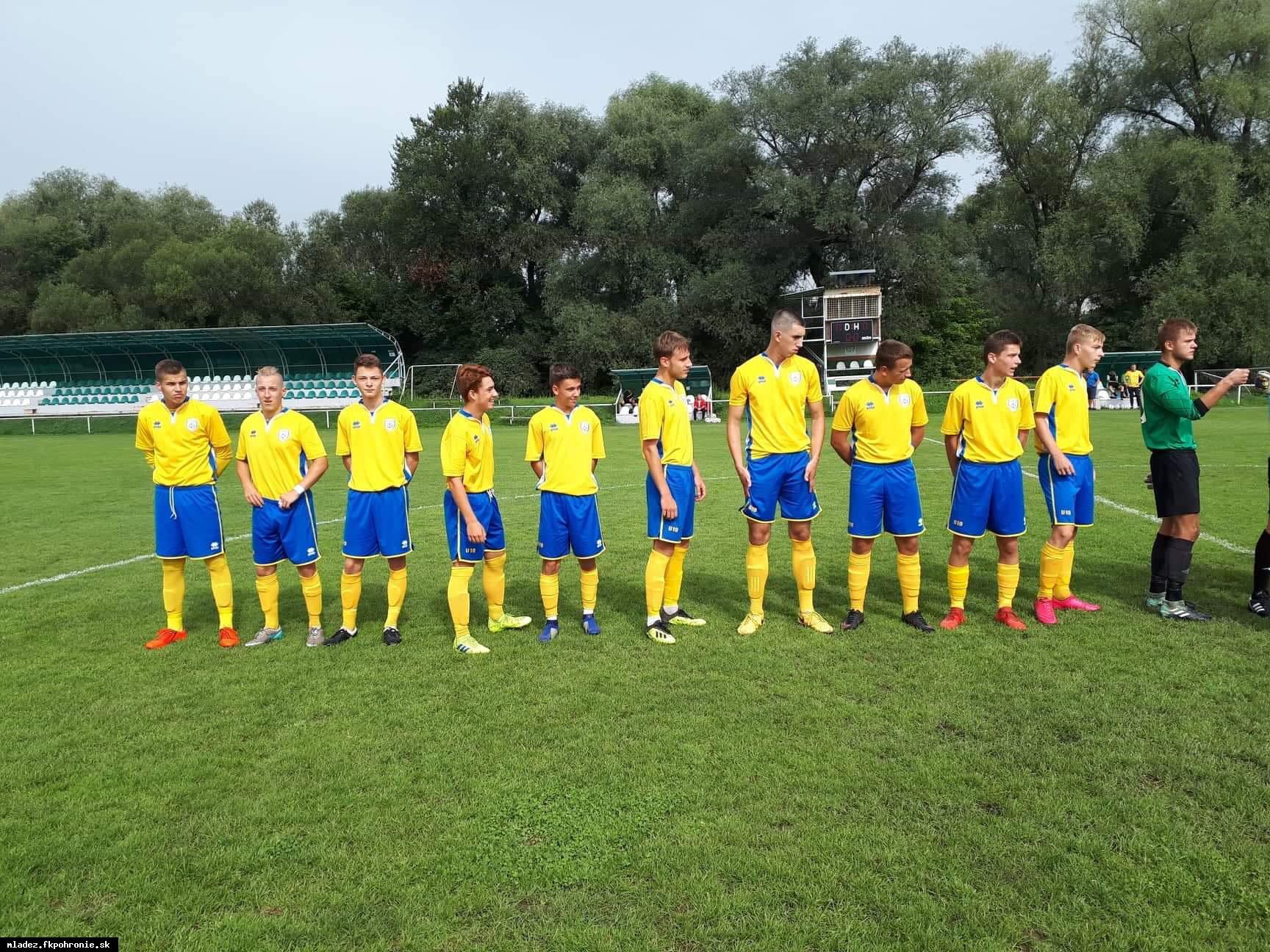 U19: Víťazný vstup do novej súťažnej sezóny