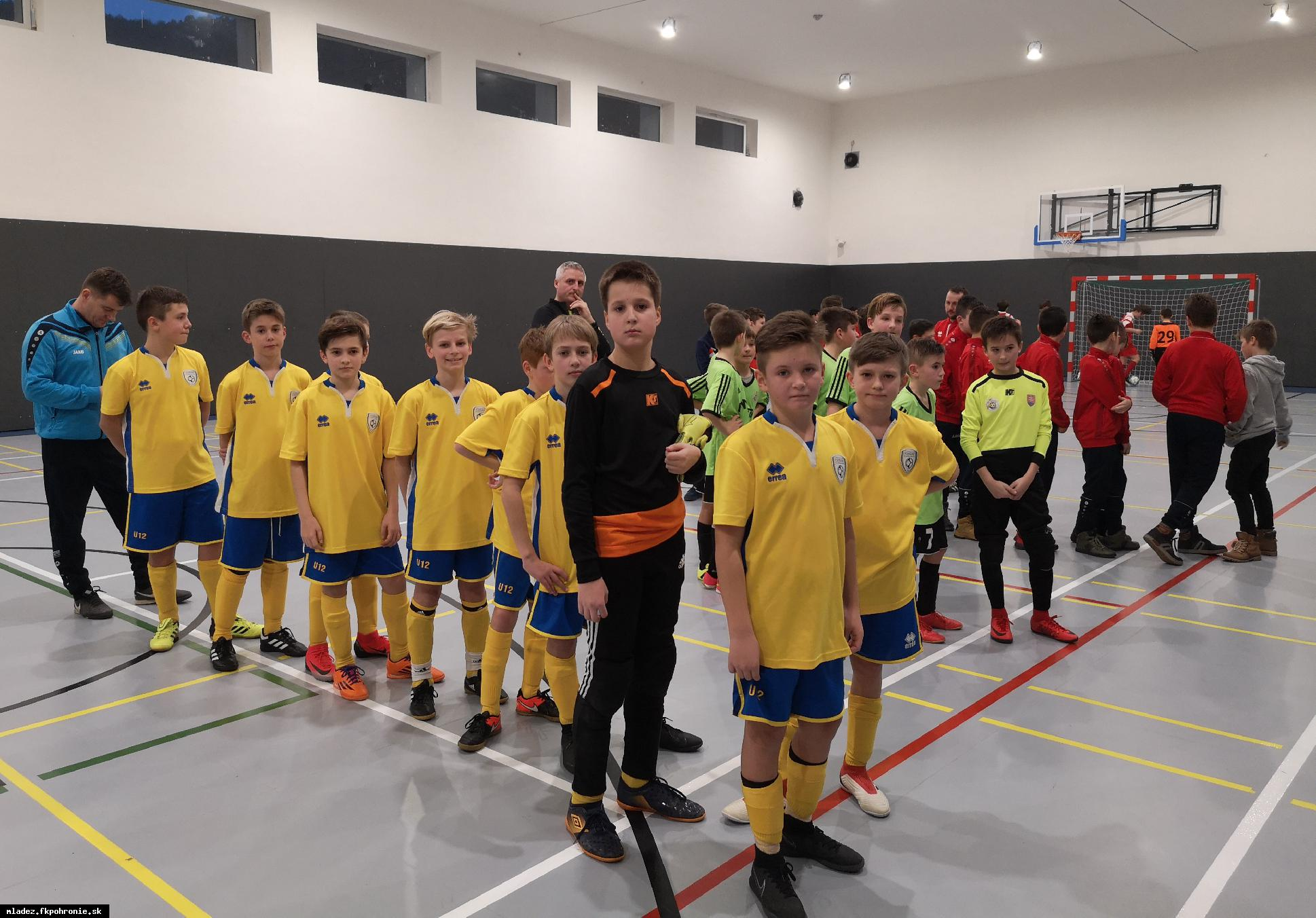 U12: halový turnaj Fašiang Cup 2019 Kremnica 8.2.2019