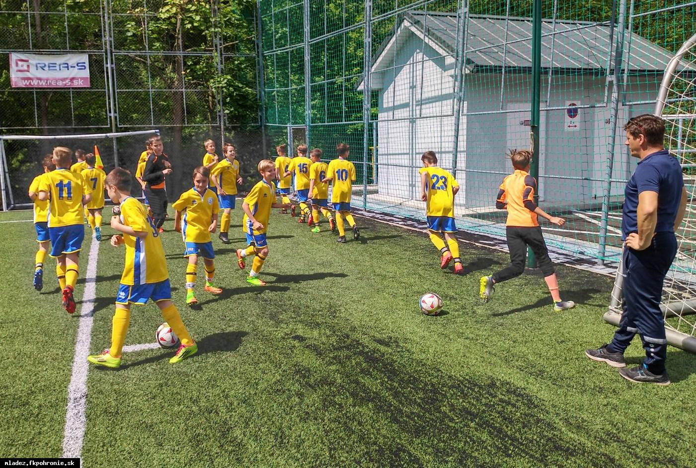 U12: 20. kolo I.LMŽ FK Železiarne Podbrezová 2.6.2019