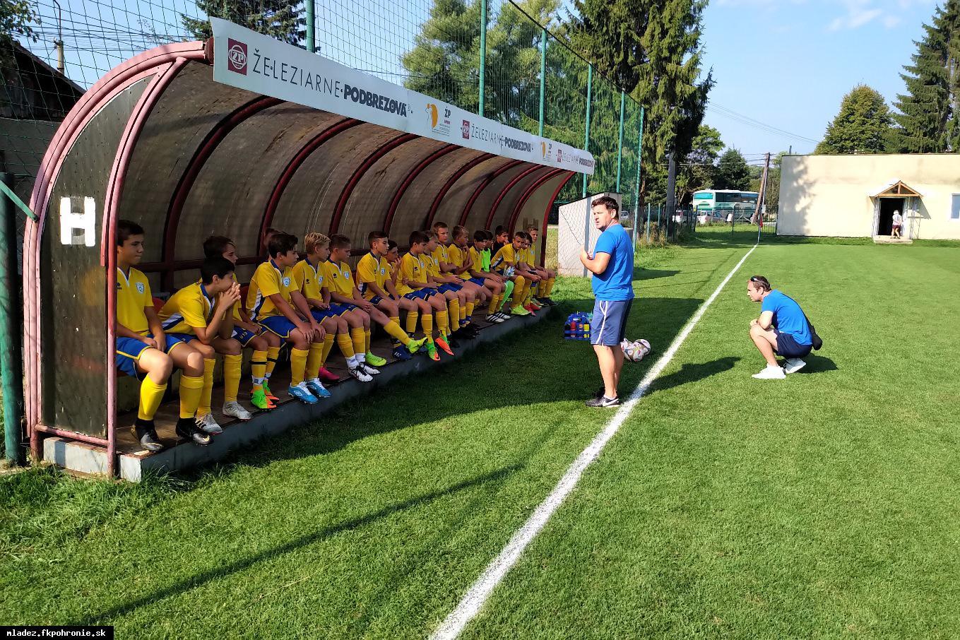 obr: U13: 2. kolo I.LMŽ FK Železiarne Podbrezová 1.9.2019