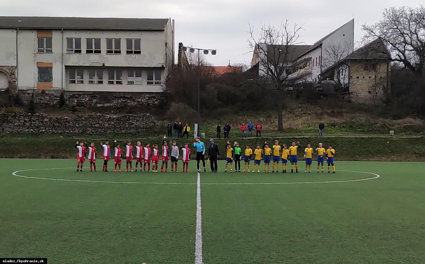 obr: U13: 12. kolo I.LMŽ MFK Dukla Banská Bystrica 16.11.2019