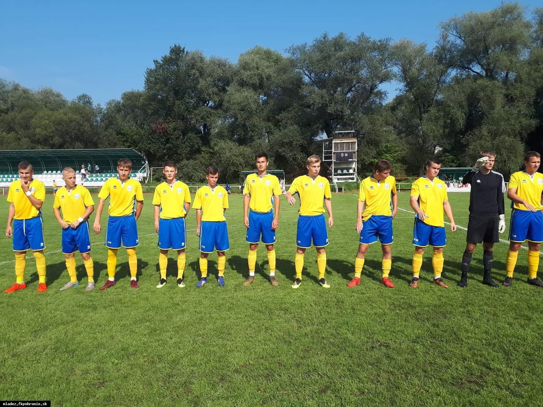 obr: U19: Potvrdenie dobrej formy proti MŠK Kysucké Nové Mesto