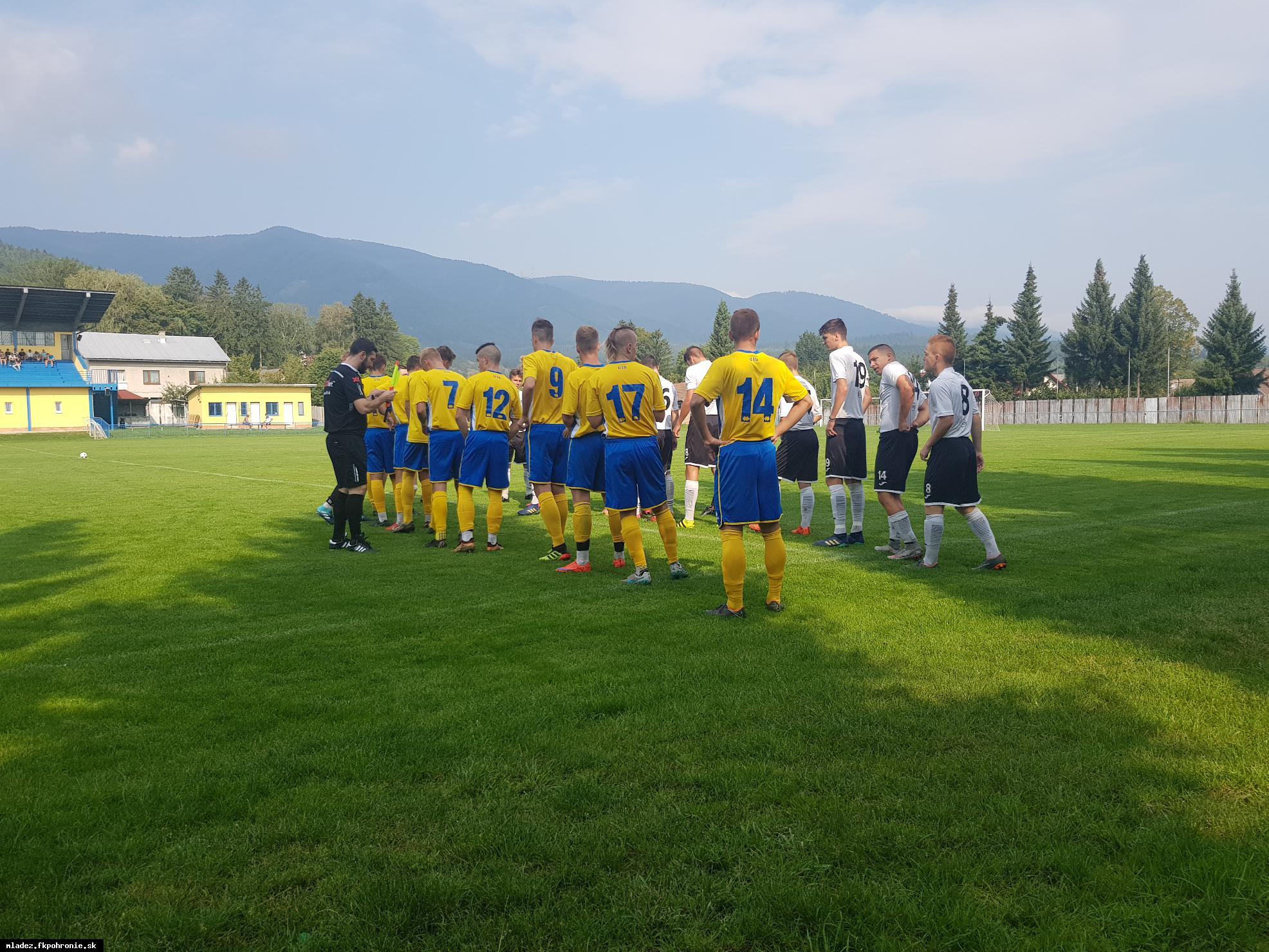 obr: U19: Domáca výhra 7:0 s FK Čadca a prehra 4:1 v Martine